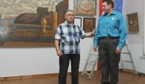 Открытие выставки Алексея Акиндинова «Под флагом орнаментализма»