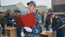 Присяга в Академии ФСИН России