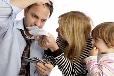Stressful-family-bills