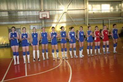 Волейболистки Рязани