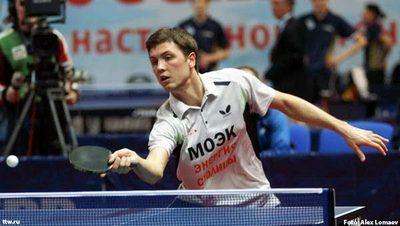 Теннисист Алексей Ливенцов