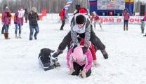 «Зажигательная» «Лыжня России-2014″