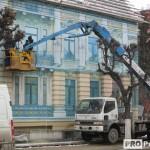 Незаконная постройка на ул.Ленина