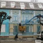 Незаконная постройка на ул. Ленина