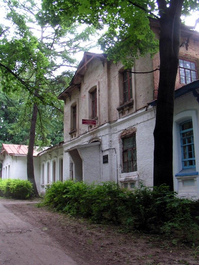Старое здание кафедры психиатрии.