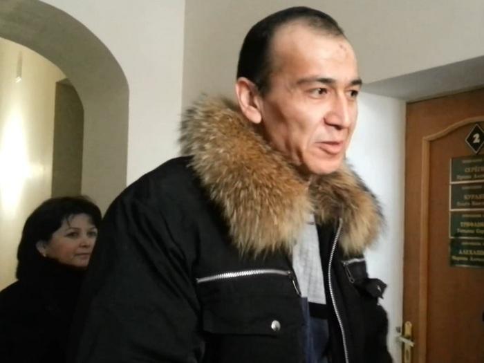 Баходир Нормарзиев не скрывал своей радости после освобождения.
