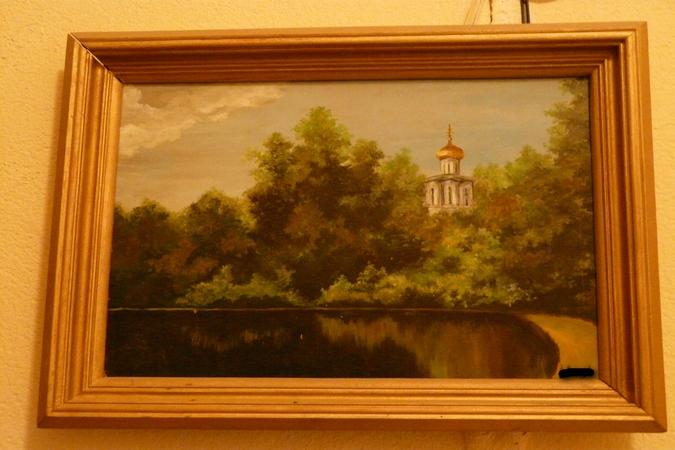 Картины, выполненные руками пациентов психбольницы.