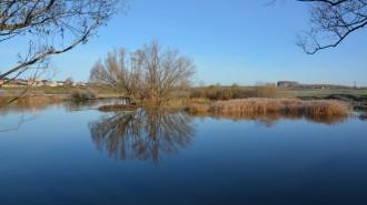 Несмотря на жаркую погоду, вода в водоемах еще не прогрелась.