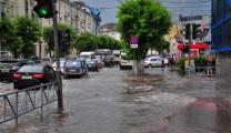 Ливень и град в Рязани 10 июня