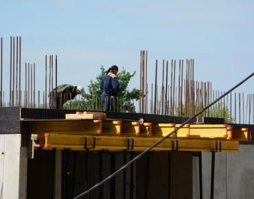 Строительство 17-этажного дома.