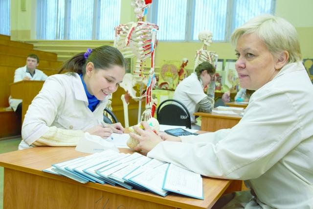 Будущие врачи. Фото Александра Королёва