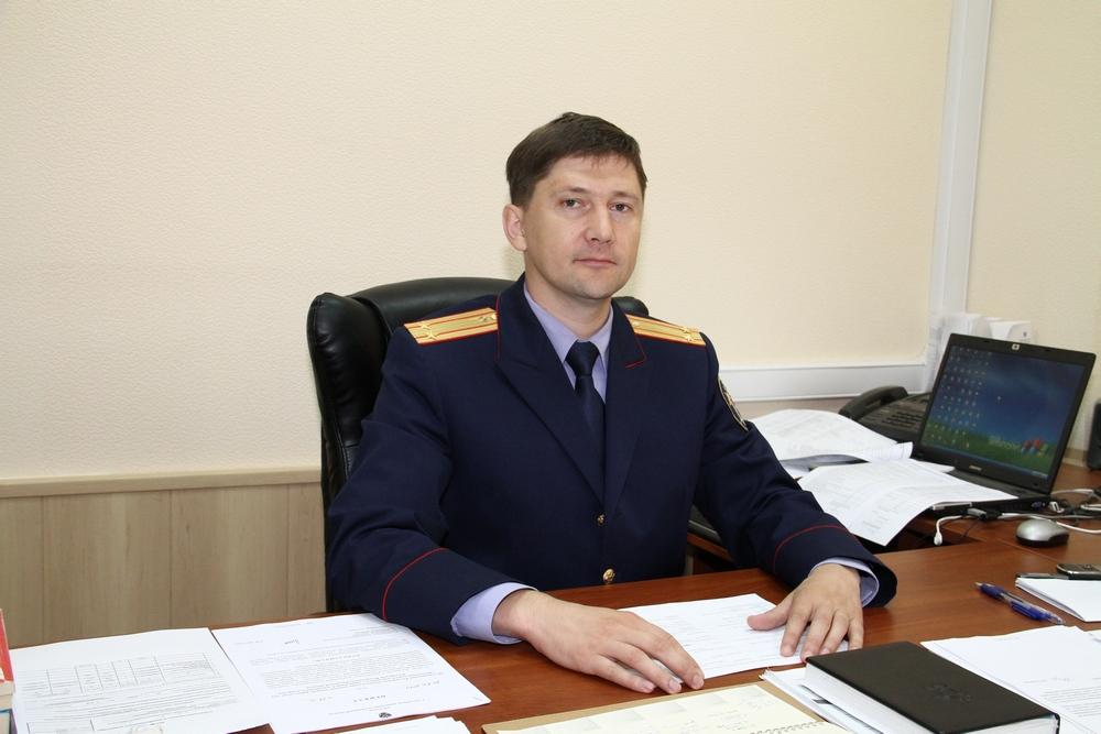 Руководитель отдела по расследованию особо важных дел СУ СК России по Рязанской области Андрей Карнов.