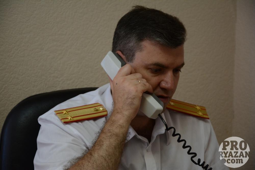 Руководитель отдела криминалистики СУ СК России по Рязанской области Виталий Бочкарев.