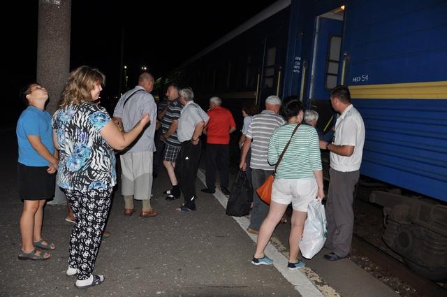 В Рязани поезд Москва – Симферополь стоит ровно 23 минуты.