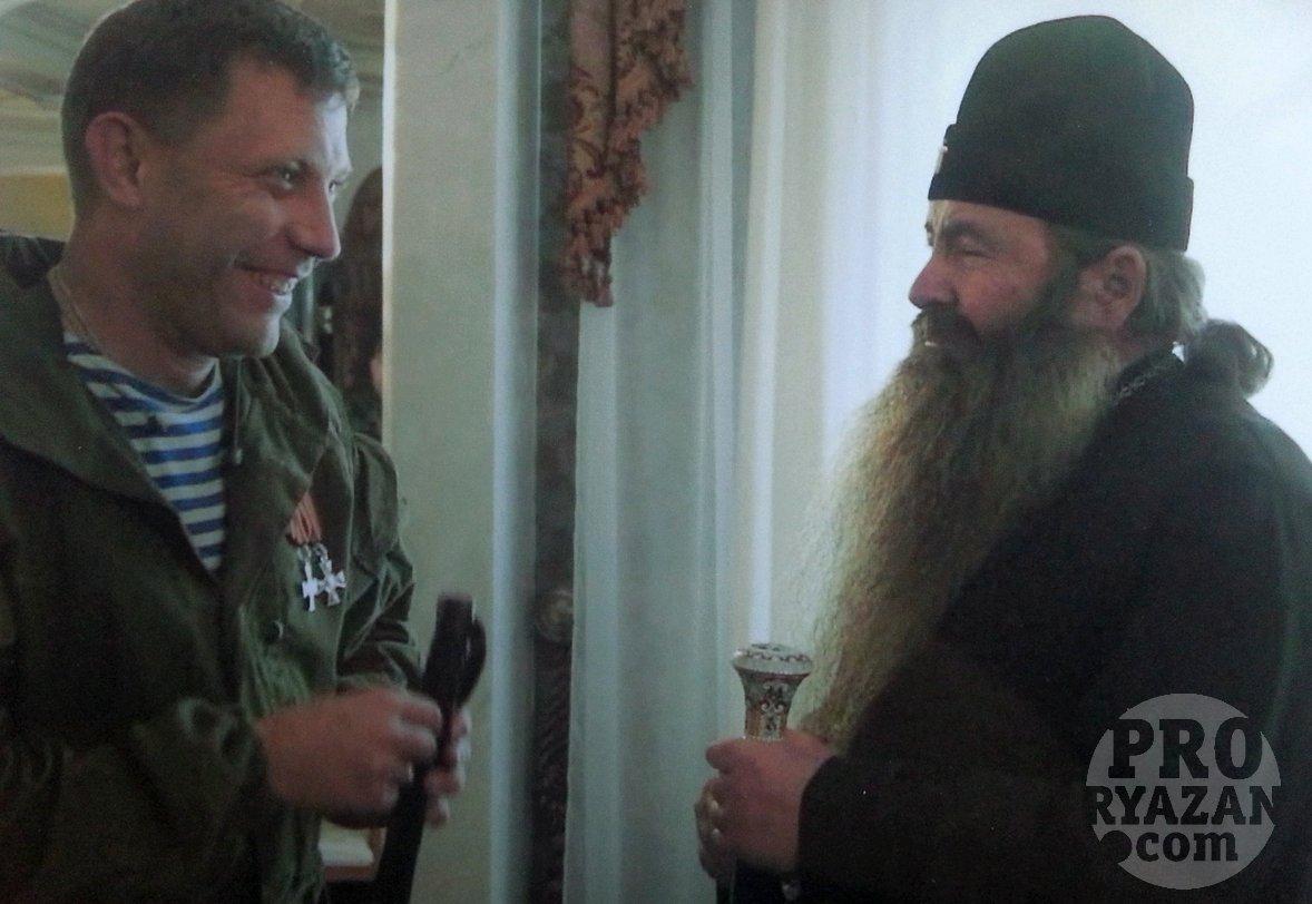 """Захарченко и Иванников (справа). Фото предоставлено главой """"царской общины""""."""