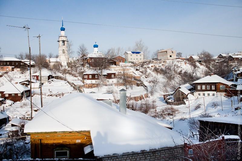 Никольский овраг в наши дни. Именно здесь грабители хотели спрятать сундук с казенными деньгами. Фото Алексея Золотенкова.