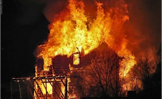 пожары 8