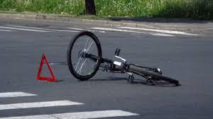 велосепедист сбит