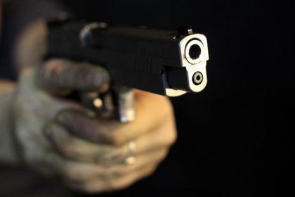 грабители с пистолетом