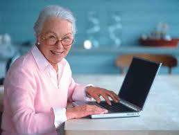 пенсионеры через интернет