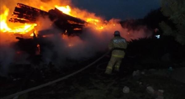 пожар Чернышовка