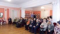 Встреча с ветеранами-блокадниками в Музее истории молодежного движения (72-ая годовщина полного освобождения города Ленинграда от блокады)