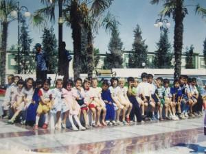 Поездка с классом в г.Кипчак (место рождения Туркменбаши)