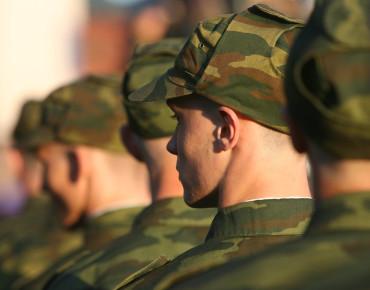 Проводы калининградских призывников на службу в Президентский полк