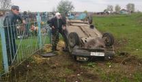 В Чучковском районе пьяный москвич на «ВАЗе» улетел в кювет