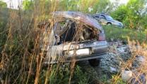В Рязанской области водитель погиб, не справившись с управлением