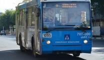 Рязанский троллейбус № 8 изменит маршрут