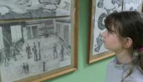 В Рязани открылась художественная выставка «Черное на белом»