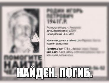 Фото: группа ВКонтакте поисково-спасательного отряда Liza Alert