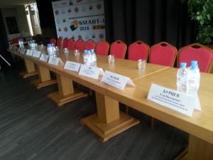 Подготовка к началу форума