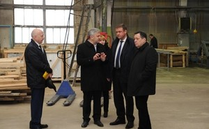 Николай Любимов посетил Шиловский район