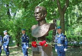 В Рязани был установлен бюст знаменитому мореплавателю Лаврентию Зогаскину